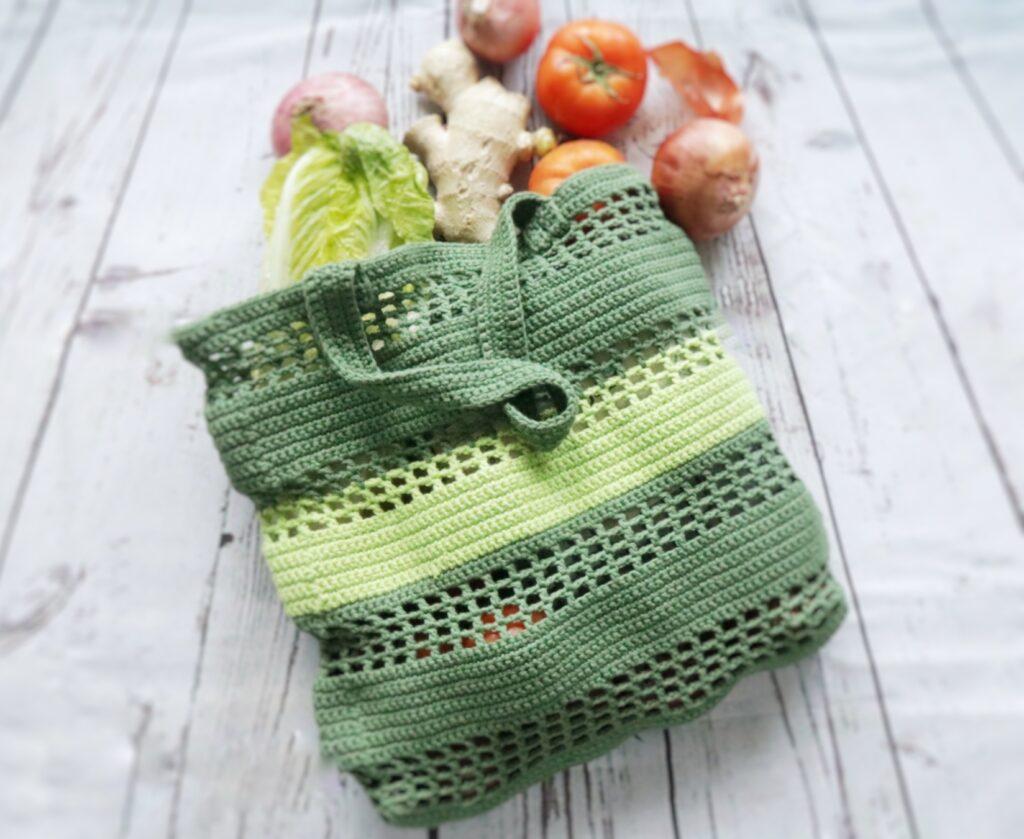 Eco friendly Market Bag crochet pattern-1