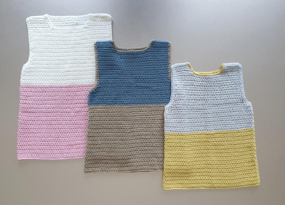 Crochet Tank Top Boys 1