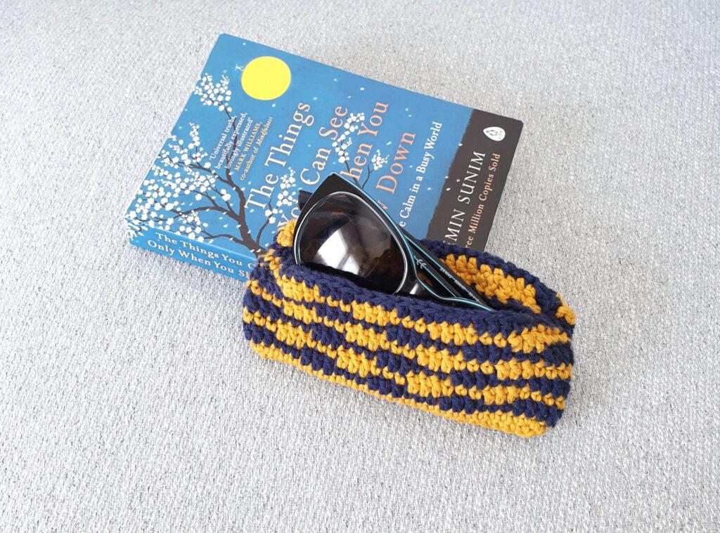 Quick Summer Crochet Sunglass Case