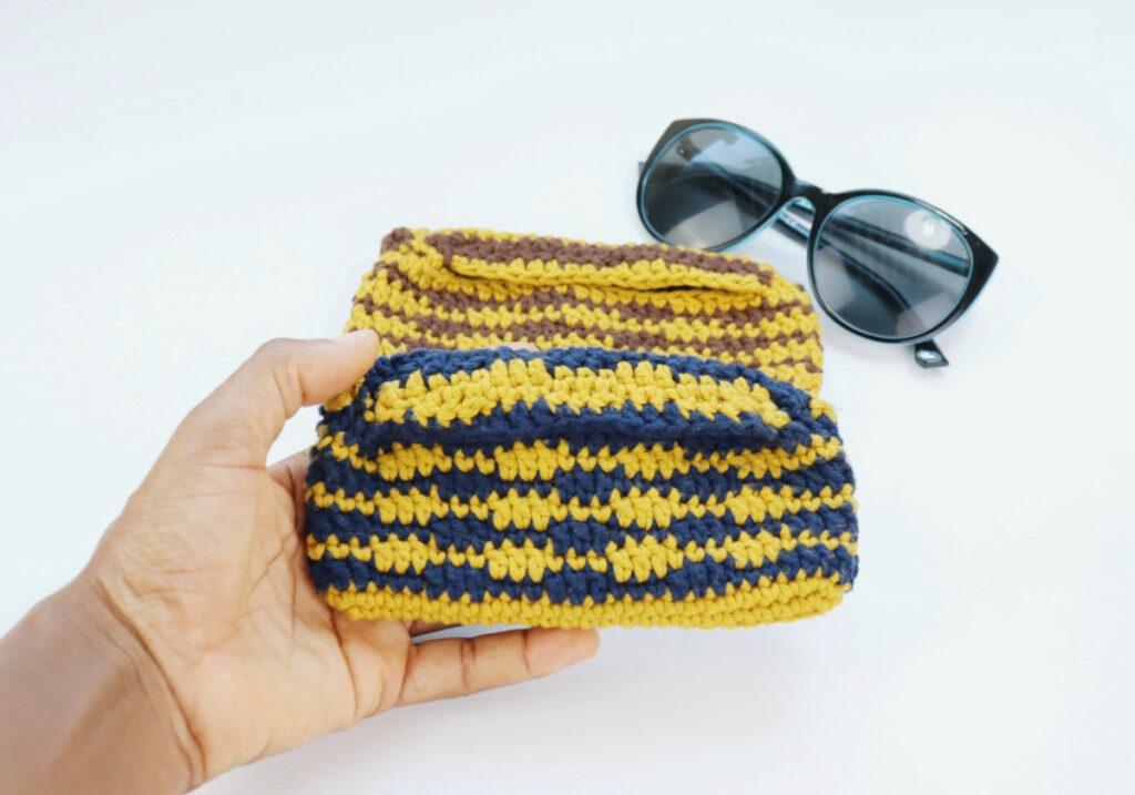 Sunglass Case Summer Crochet Pattern
