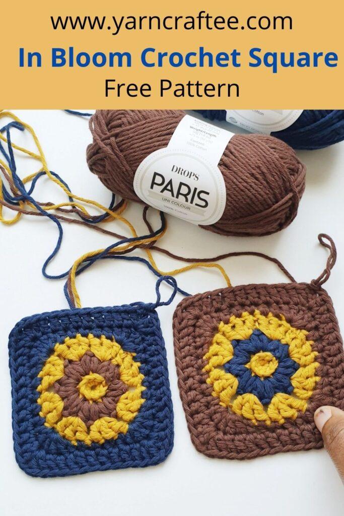 Crochet Square Motif